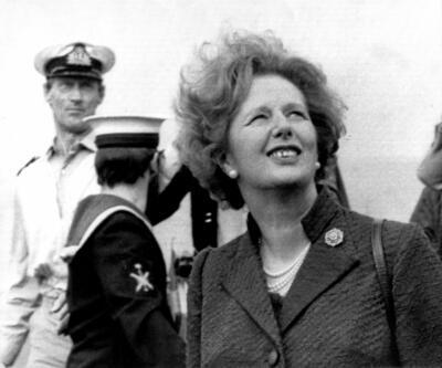 Margaret Thatcher'ın savaş oyuncağı