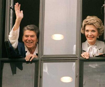 """ABD'nin eski """"First Lady""""si Nancy Reagan vefat etti"""