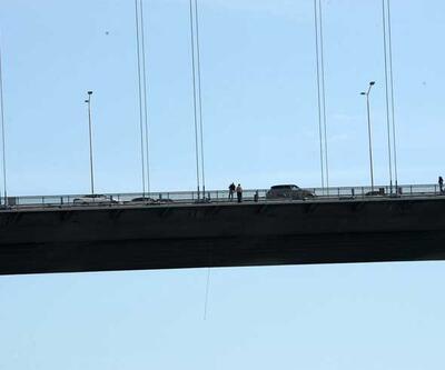 """Boğaziçi Köprüsü'ndeki intihar. Kadınlar """"atla"""" demiş"""