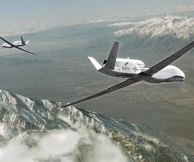 NATO tatbikatında kartal drone'u düşürdü