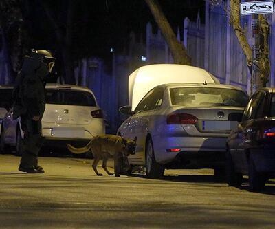 Ankara'da şüpheli araç alarmı