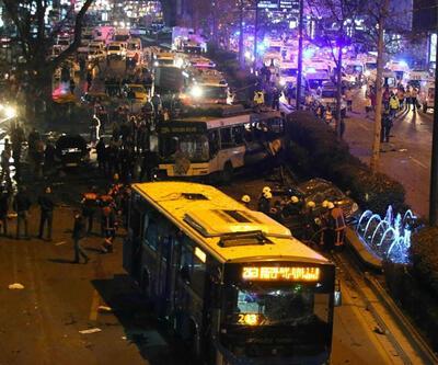 Kızılay'da patlatılan bavul dolusu bomba otobüsle getirilmiş