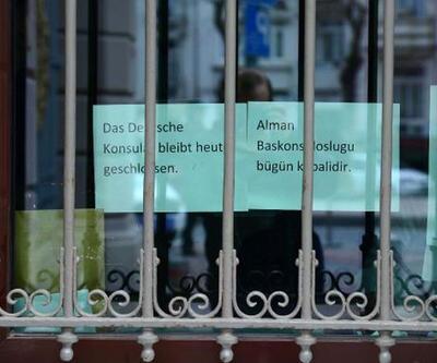 Almanya Başkonsolosluğu bugün de kapalı