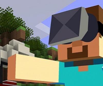 Minecraft için sanal gerçeklik modu!