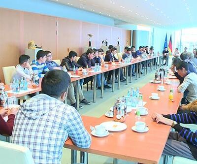 Türk öğrenciler staj için Almanya'da