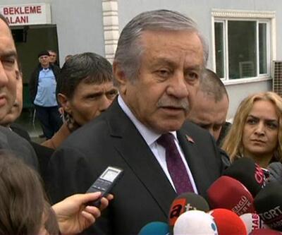 MHP'li Celal Adan yaralıları hastanede ziyaret etti