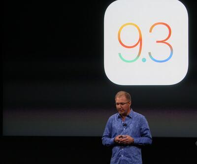 iOS 9.3 güncellemesi dağıtılmaya başladı
