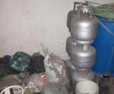 Şırnak'ta bir evde 2 ton patlayıcı imha edildi
