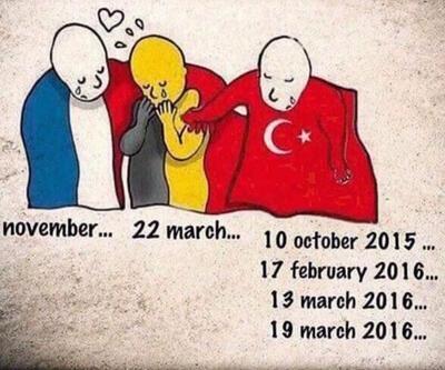 Türk kullanıcılar o karikatürü değiştirdi