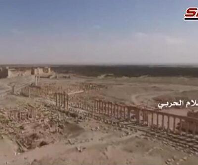 IŞİD'den kurtarılan Palmira'nın son hali böyle