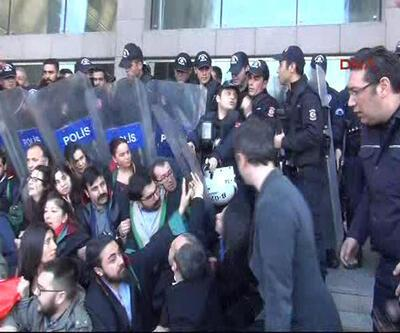 Çağlayan Adliyesi önünde avukatlara müdahale