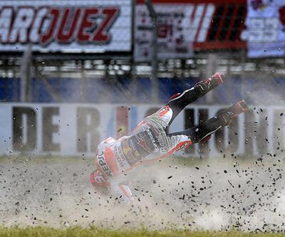 MotoGP'de Marquez güldü