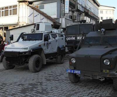 Hakkari'de polis müdahalesi
