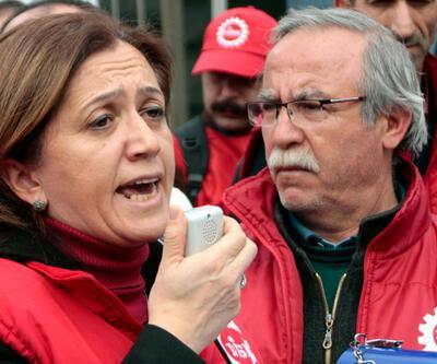 DİSK Genel Sekreteri Arzu Çerkezoğlu'na ilk celsede beraat