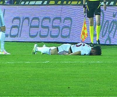 Süper Lig'de korku dolu anlar