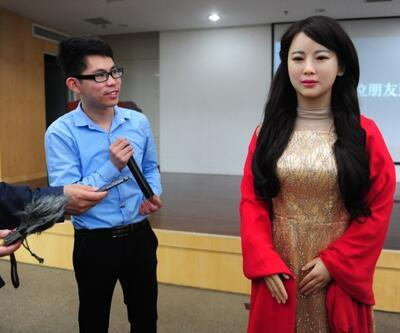 Çinlilerden çok ilginç bir robot