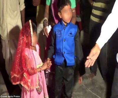 Hindistan'da toplu 'çocuk düğünü'