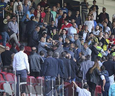 Olaylı Ankaragücü - Amedspor maçından kareler