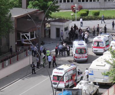 Gaziantep'teki bombalı saldırıdan kareler
