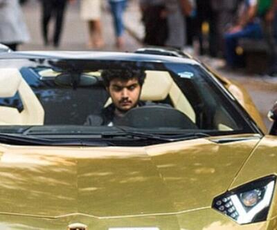 Altın otomobilli Suudi playboy konuştu: Babam ne istersem alıyor