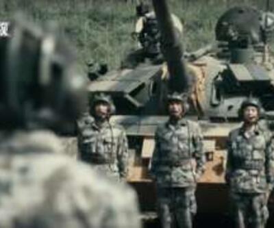 Çin ordusundan rap klibiyle gövde gösterisi