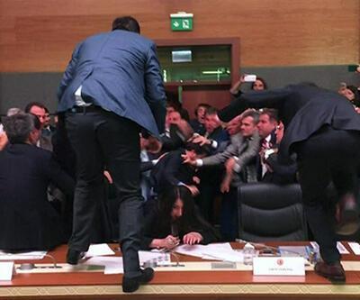 HDP'lilerin attığı sloganlara sert tepkiler