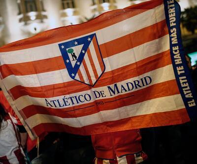 Atletico Madrid taraftarları çılgınlar gibi sevindi