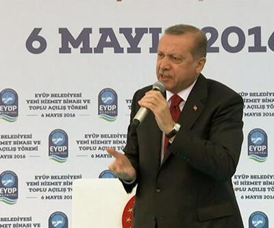 Cumhurbaşkanı Erdoğan Avrupa Birliği'ne rest çekti