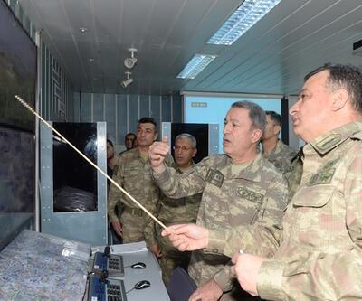Genelkurmay Başkanı operasyon bölgesinde