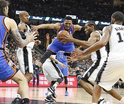 Oklahoma Spurs'a baskın yaptı