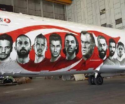 THY'nin süslediği uçağa göre A Milli Takım'ın Euro 2016 kadrosu!