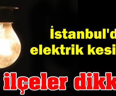 İstanbul'da Elektrik Kesintisi! Elektrikler ne zaman gelecek?