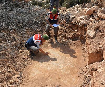 Antalya'daki kaçak kazıda Bizans'tan kalma kilise ortaya çıktı