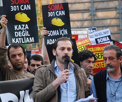 Soma faciasında hayatını kaybeden işçiler anıldı