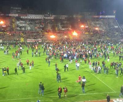Eskişehirspor yenildi, ortalık karıştı