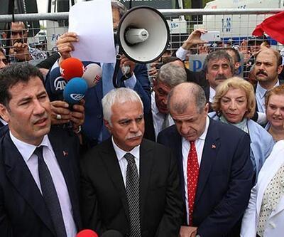 MHP'de kongreye polis barikatı