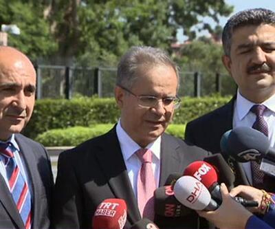 Cumhurbaşkanı Erdoğan, Kilis Valisi ile görüştü