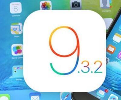 iOS 9.3.2 yayınlandı!