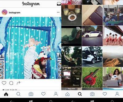 Yeni Instagram artık Windows 10 Mobil'de!