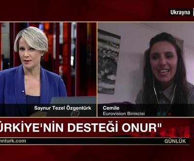 Eurovision birincisi Cemile en sevdiği Türkçe şarkıyı söyledi