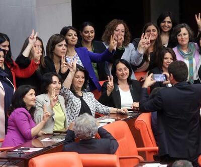 Dokunulmazlık başladı, HDPhttp://www.cnnturk.com/ekonomiekonomi39;li kadın vekiller hatıra fotoğrafı çektirdi