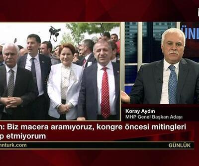 Koray Aydın: ''Cemaat Akşener'i destekliyor''