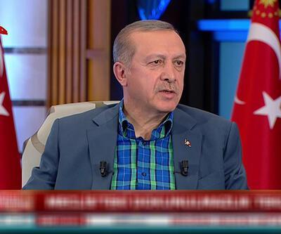 Cumhurbaşkanı Erdoğan CHP'ye seslendi