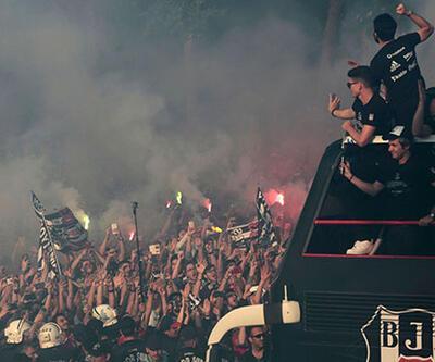 Beşiktaş'ın şampiyonluk kutlamasında neler yaşandı?