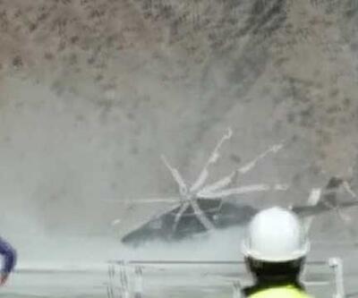 DSİ Genel Müdürü'nü taşıyan halikopter kaza yaptı: 3 yaralı