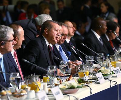 Dünya liderleri Dünya İnsani Zirvesi için İstanbul'da