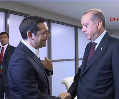 Erdoğan'dan Çipras'a kravat sorusu