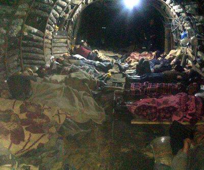 Madenciler 1 haftadır madenden çıkmıyor
