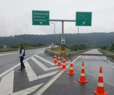 Bolu Dağı Tüneli'nde bakım için Ankara yönü trafiğe kapatıldı