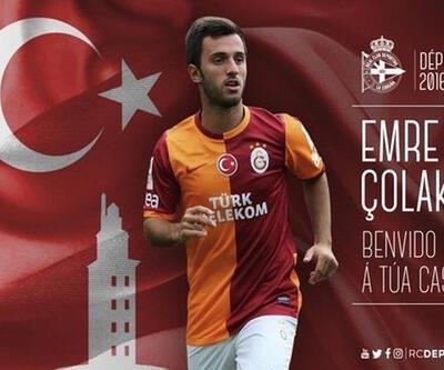 Emre Çolak Deportivo'ya transfer oldu